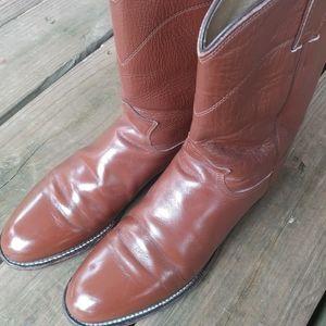 Justin Brown Roper Boot 3802 Men's US 10B Womans S